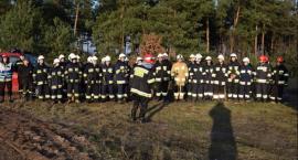 Ćwiczenia strażaków w terenie
