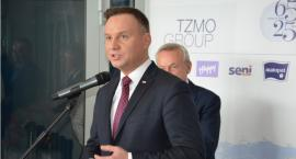 Andrzej Duda z wizytą w Plastice