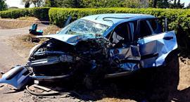 Groźny wypadek w Piórkowie