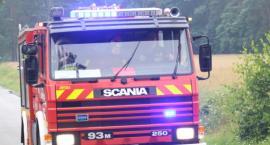 Pożar domu w Elgiszewie