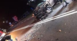Kolejny wypadek, 3 osoby w szpitalu
