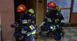 Pożar w komendzie