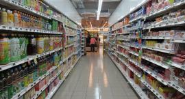 Chwile grozy w supermarkecie