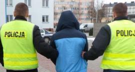 Recydywista w rękach policji