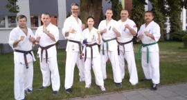 Karatecy na obozie w Tucholi