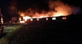 Pożar hali i milionowa strata