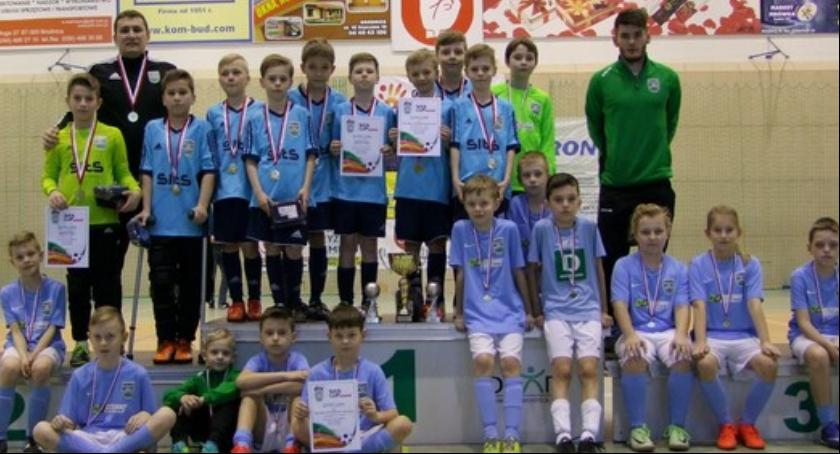 Piłka nożna, Turniejowy sukces Brodnica - zdjęcie, fotografia