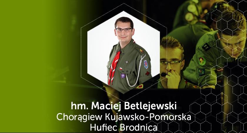 Wywiady, Niezwyczajny harcerz wywiad Maciejem Betlejewskim - zdjęcie, fotografia
