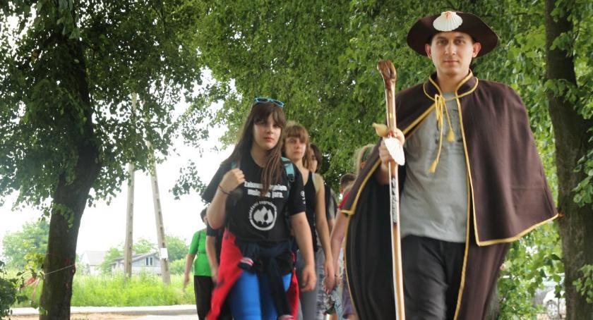 Porady, Szlak Jakuba pielgrzymka wycieczka - zdjęcie, fotografia