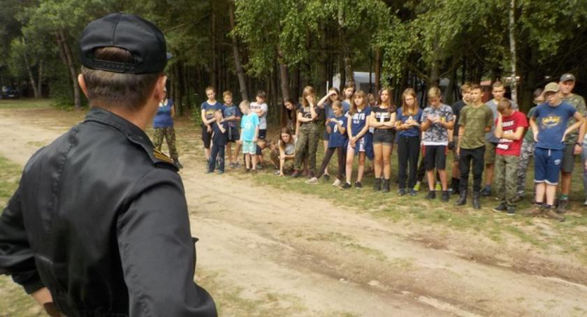 Komunikaty i profilaktyka, Bezpieczne obozy harcerskie - zdjęcie, fotografia