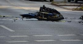Motocyklem po pijaku w rowerzystkę