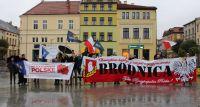 Manifestowali w Brodnicy