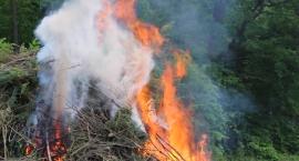 Pożar i konkurs w Grabinach [VIDEO I FOTORELACJA]