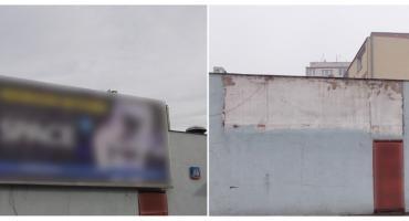 ZDM sprawdza legalność reklam na ulicach. 107 reklam ze 120 ulic zlikwidowano w lutym