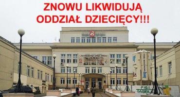 Ponad 4 tys. podpisów przeciwko likwidacji chirurgii dziecięcej. 500 z Białołęki. Walka trwa