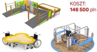 Zabawa bez barier - integracyjny plac zabaw w parku Picassa