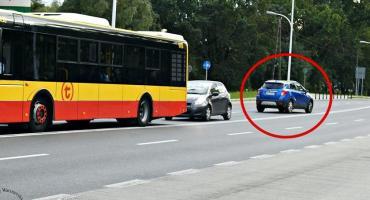 Pomysłowość białołęckich kierowców nie zna granic...