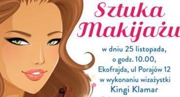 Sztuka makijażu w ramach spotkań Babskiej Białołęki!