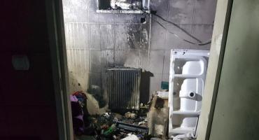 Pożar domu przy Kartograficznej. Straż publikuje zdjęcia