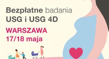 Bezpłatne badania USG 4D i konsultacje medyczne dla przyszłych mam