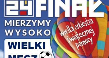 Charytatywny mecz WOŚP