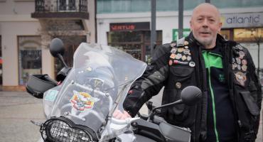 Motocykliści szanują lokalny patriotyzm