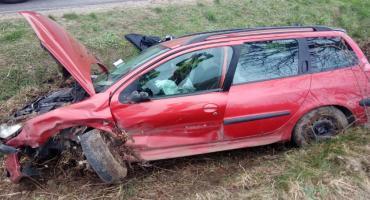 Groźny wypadek w Zieleniu