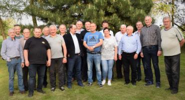 Koleżeńskie spotkanie strażaków w Osieczku