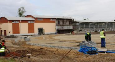 Przebudowa stadionu postępuje