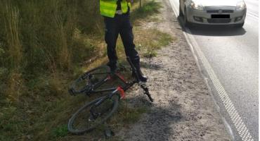Rypin: Potrącenie rowerzystki na Warszawskiej