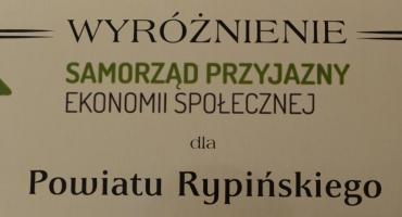 Wyróżnienie dla powiatu rypińskiego