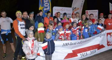 Pobiegli z ultramaratończykiem
