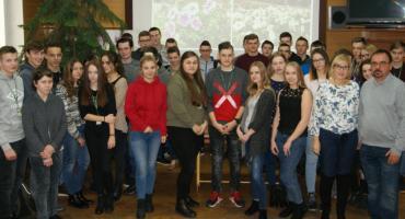Dariusz Malinowski odwiedził uczniów