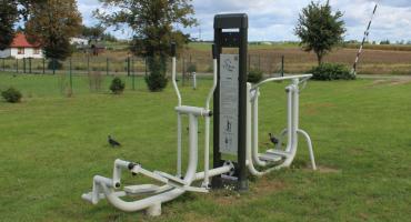 Nowe altany i siłownia