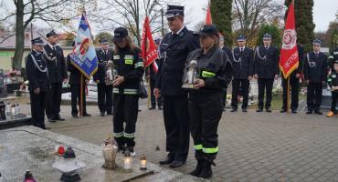Ku czci zmarłym strażakom