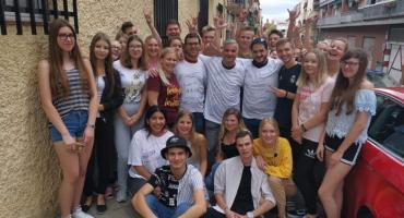 Zdobywali doświadczenie w Hiszpanii