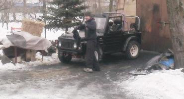 Suzuki LJ 80 uratowana! ;)