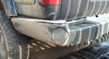 Zderzak Toyota Land Cruiser HDJ80 - tył