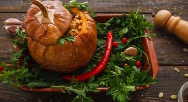 Obiad z potrawą z dyni idealny na jesień