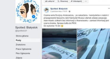 Panie prezydencie, chce pan rozmawiać o hejcie? Może zacznijmy od spotted Białystok?