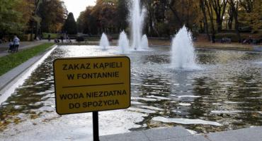 Trzeba przejrzeć miejskie fontanny przed sezonem