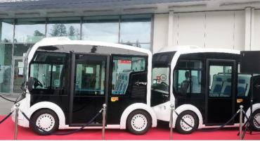 Czy elektryczny mikrobus z Francji trafi kiedyś do Białegostoku na stałe?