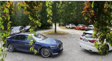 Szybkie, eleganckie, komfortowe, za grube pieniądze. BMW Alpina na podlaskich drogach
