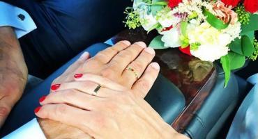 Ślub w Pałacu ślubów, przyjęcie na Saskiej Kępie. Marta Kaczyńska zmieniła stan cywilny