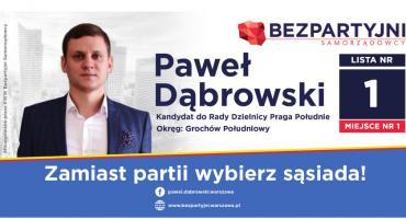 Zamiast partii wybierz sąsiada z Grochowa