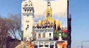 Mural Niepodległości przy Grochowskiej odsłonięty