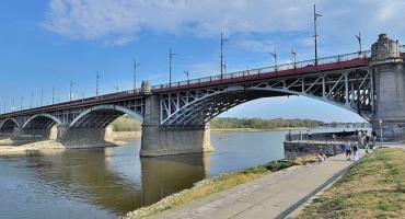 Most Poniatowskiego do generalnego remontu