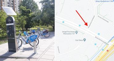 Nowa stacja rowerów Veturilo na Gocławiu