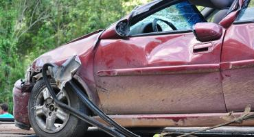 Wypadek na Gocławku. Kierowca samochodu na minuty oddalił się z miejsca kolizji