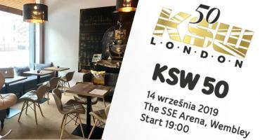 Kawiarnia Unique Choice zaprasza do wspólnego oglądania KSW 50